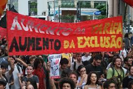 manifestações esquerda