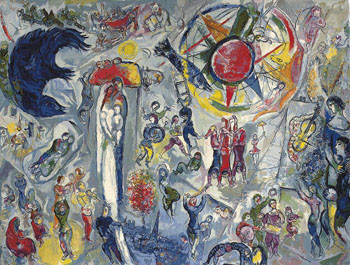Marc-Chagall-La-Vie-1964