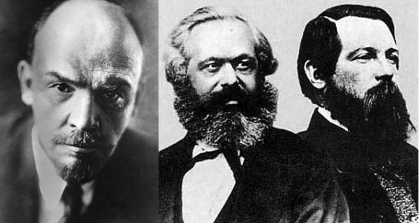 Lenin Marx e Elgels