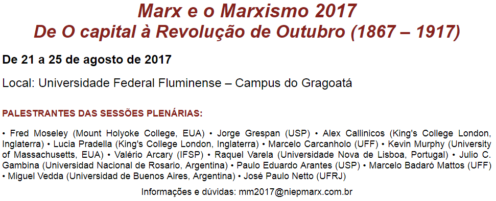 Marx e Marxismo